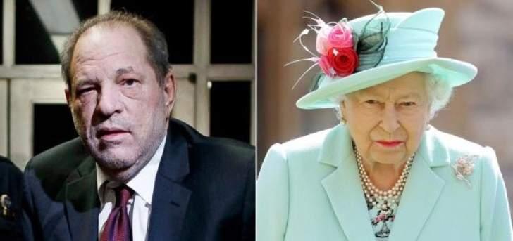 بعد فضائحه الجنسية.. الملكة إليزابيث تتخذ هذا القرار ضدّ هارفي واينستين
