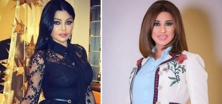 نجوى كرم وهيفا وهبي تعايدان الاردن بعيد استقلالها