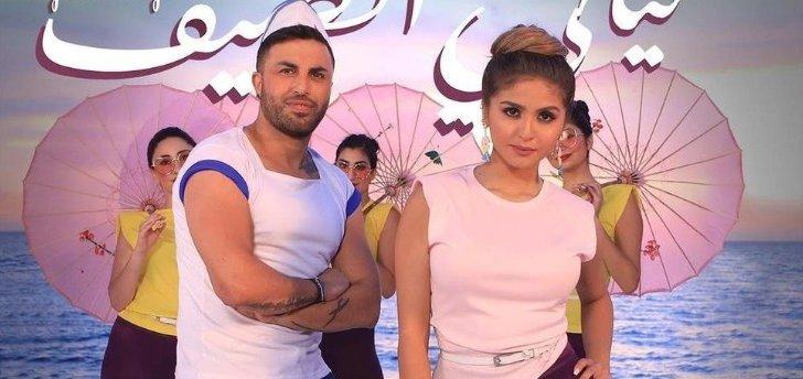 """حلا الترك تشوق متابعيها لـ""""ليالي الصيف"""" مع جاد شويري- بالفيديو"""