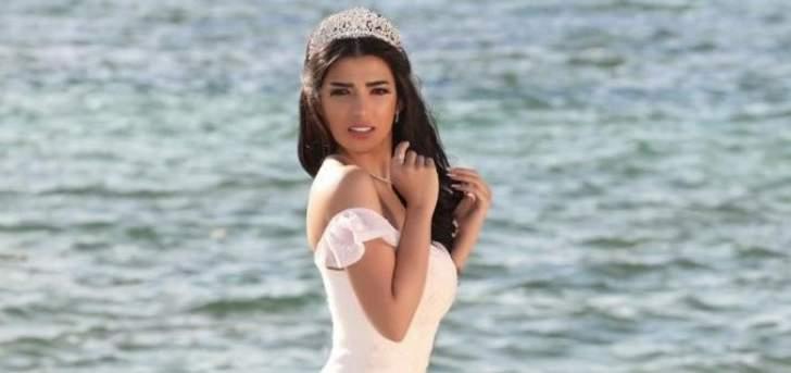 سنا عطية تحصل على لقب ملكة جمال اسيا سوريا لعام 2021