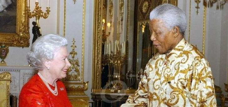 علاقة غير عادية بين نيلسون مانديلا والملكة إليزابيث والأخيرة تخرق البروتوكول لأجله