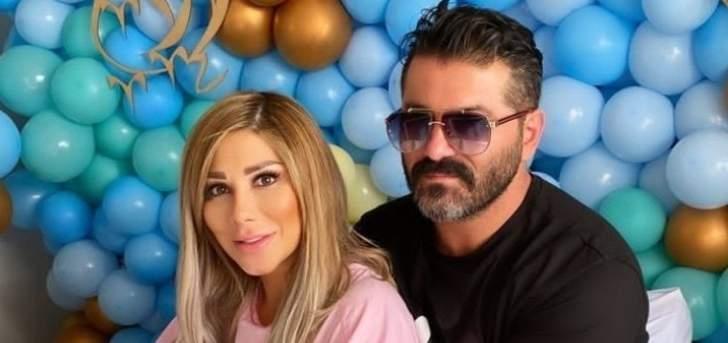 يزن السيد يرزق بطفله الثاني  وزوجته  توثق اللحظات المؤثرة – بالفيديو