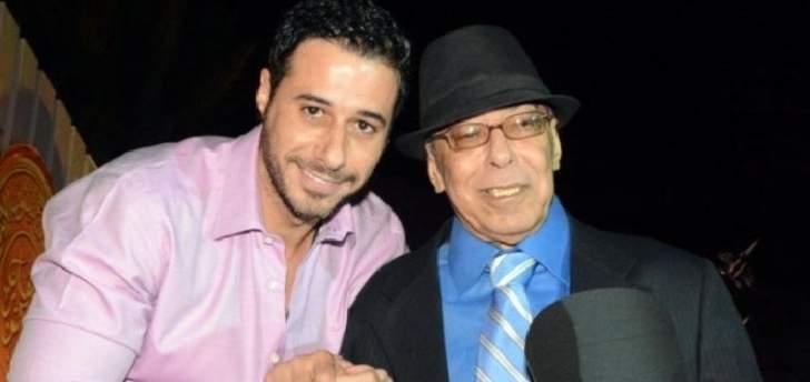 في عيده الـ76.. إبن صلاح السعدني يعايده- بالصورة