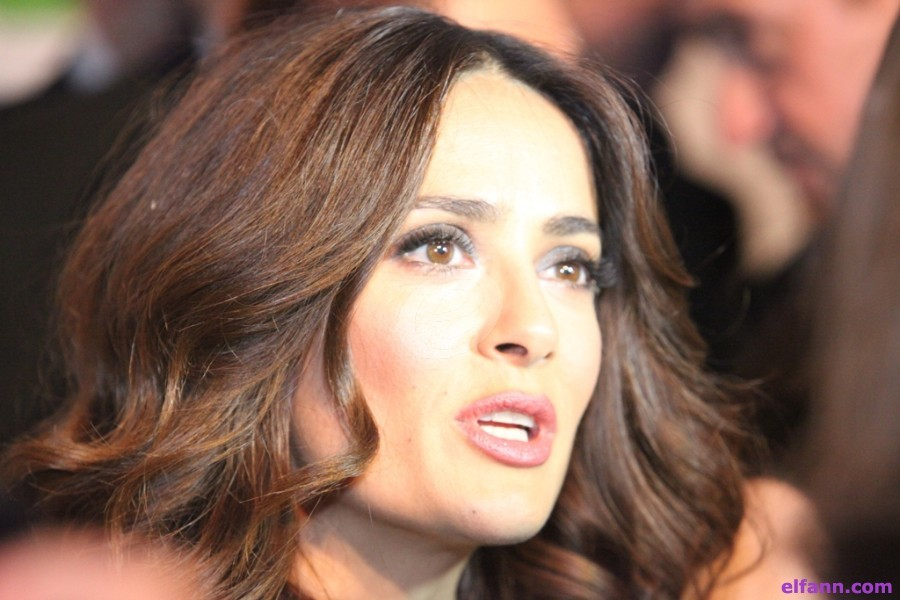 سلمى حايك تكشف عن موعد طرح فيلمها الجديد-بالفيديو