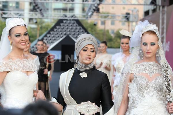 فاطمة اسماعيل تمزج الخيوط الباريسية بالخيوط اللبنانية