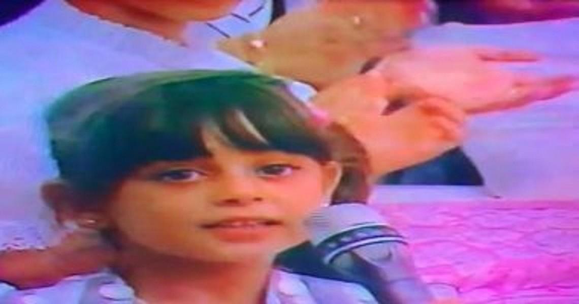 خمنوا من هذه الطفلة وهي تغني لـ عمرو دياب.. بالفيديو