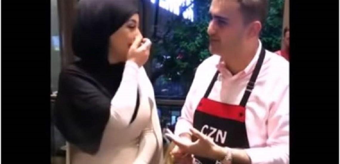 """الطباخ التركي الشهير """"بوراك"""" يعرض الزواج على فنانة جزائرية! بالفيديو"""