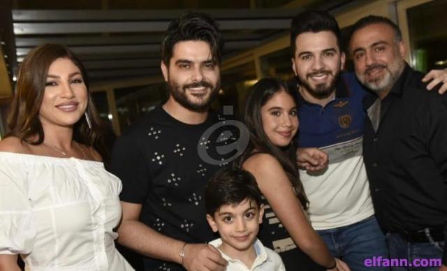 خاص بالفيديو- عماد قانصوه يحتفل بعيد إبنته بحضور ناصيف زيتون وحازم شريف