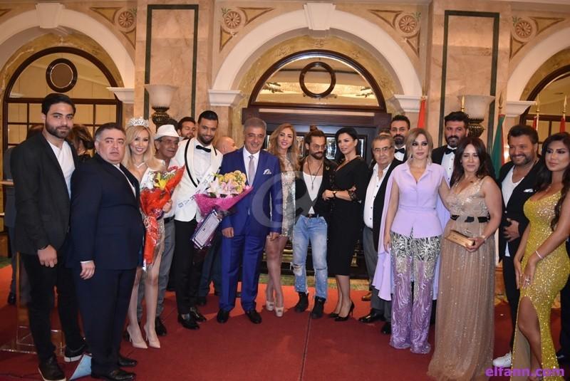 """خاص بالفيديو- تكريم روميو لحود وجوائز """"AFDAL"""" تنالها تقلا شمعون وسوزان نجم الدين ويزن السيد وغيرهم"""