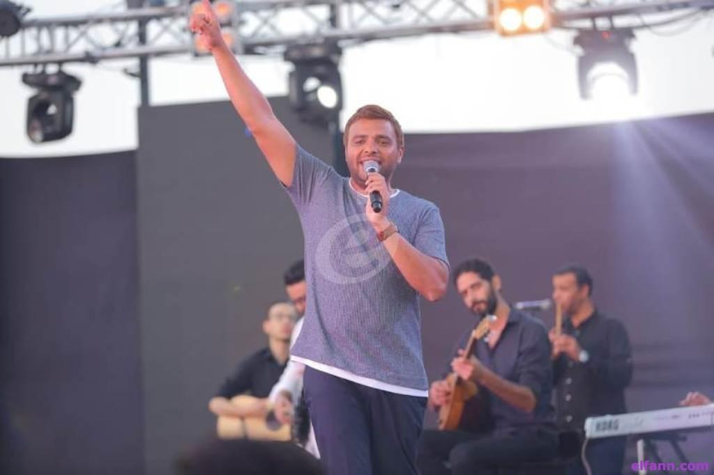 """خاص بالصور- رامي صبرى يحتفل بطرحه ألبوم """"فارق معاه"""" بحفل مميز في الساحل الشمالي"""
