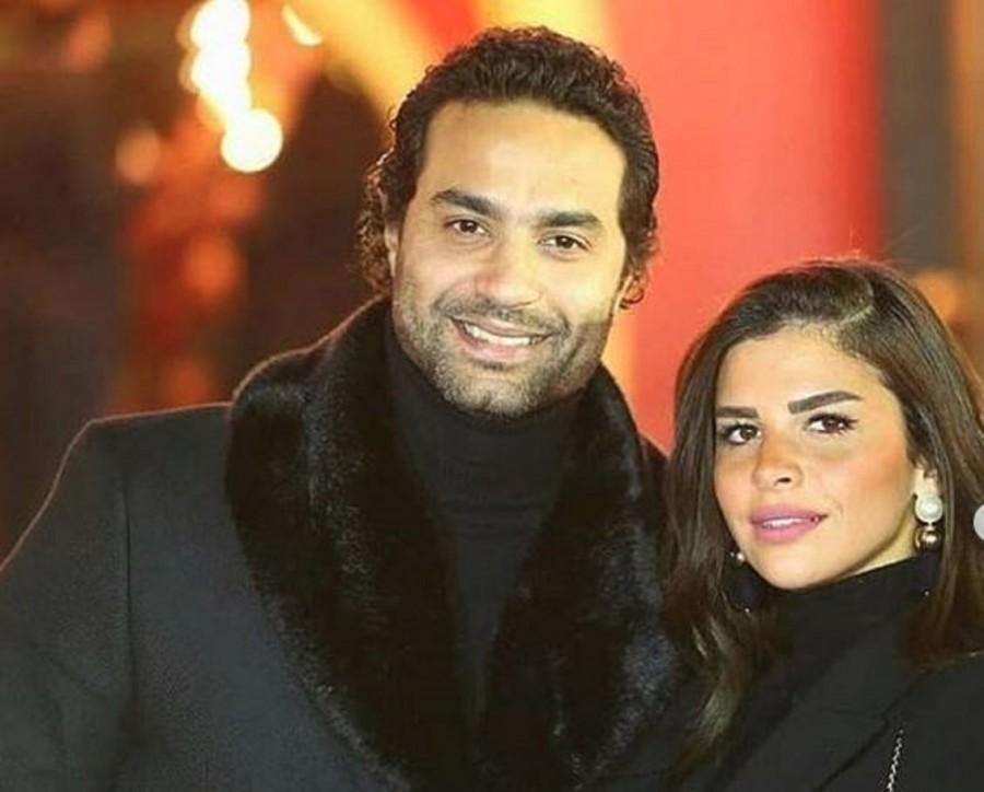كريم فهمي يتغزّل بزوجته في عيد ميلادها.. بالصور
