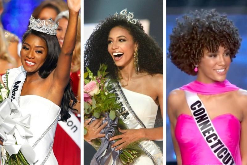 لأول مرة ثلاث ملكات سمراوات على عرش الجمال الأميركي