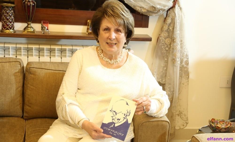 """شيراز فرحات شبيب :""""هذا ما جعل خليل فرحات يكتب عن الإمام علي وهكذا أحرقوا مكتبة والدي"""""""