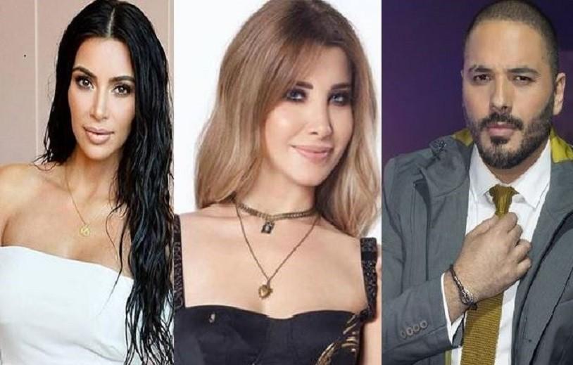 رامي عياش ونانسي عجرم وكيم كارداشيان وغيرهم إختاروا أسماءً غريبة لأولادهم.. تعرفوا الى معانيها