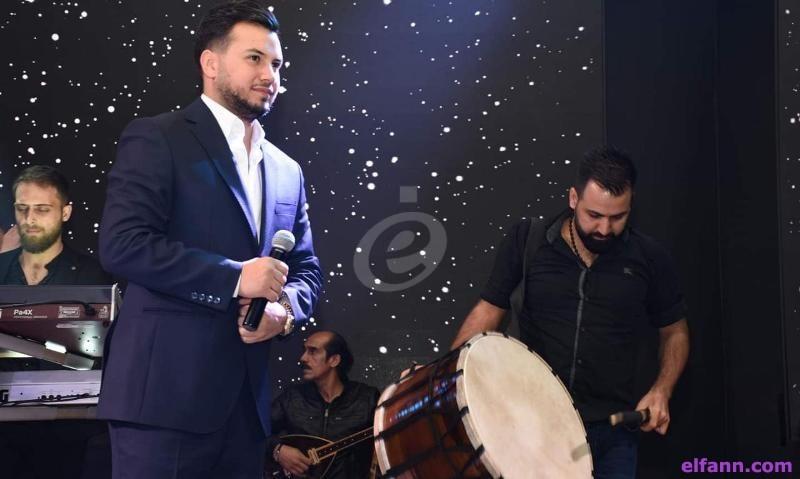 خاص بالصور -وديع الشيخ يخطف قلوب العشاق وأغنية خاصة مع فارس اسكندر