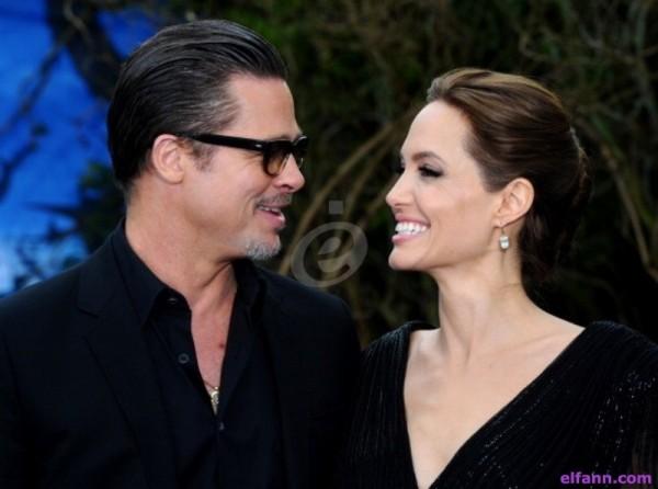 كشف معلومات جديدة مفاجئة عن سبب إنفصال أنجلينا جولي وبراد بيت!!