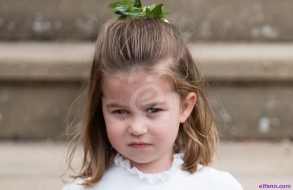 الاميرة شارلوت تحرج والدتها بتصرفها ... ماذا فعلت؟