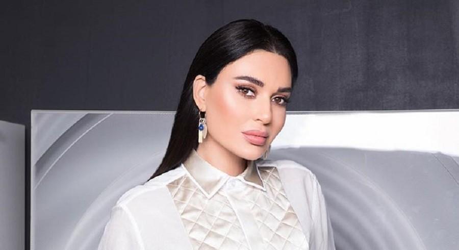 """سيرين عبد النور بمشهد طريف لها من كواليس """"الشهر السابع""""-بالفيديو"""