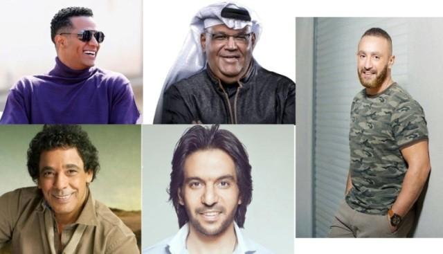 """محمد منير ورط أحمد السقا وبهاء سلطان أنقذه..وصداقة نبيل شعيل ومحمد رمضان أودت إلى تتر """"زلزال"""""""
