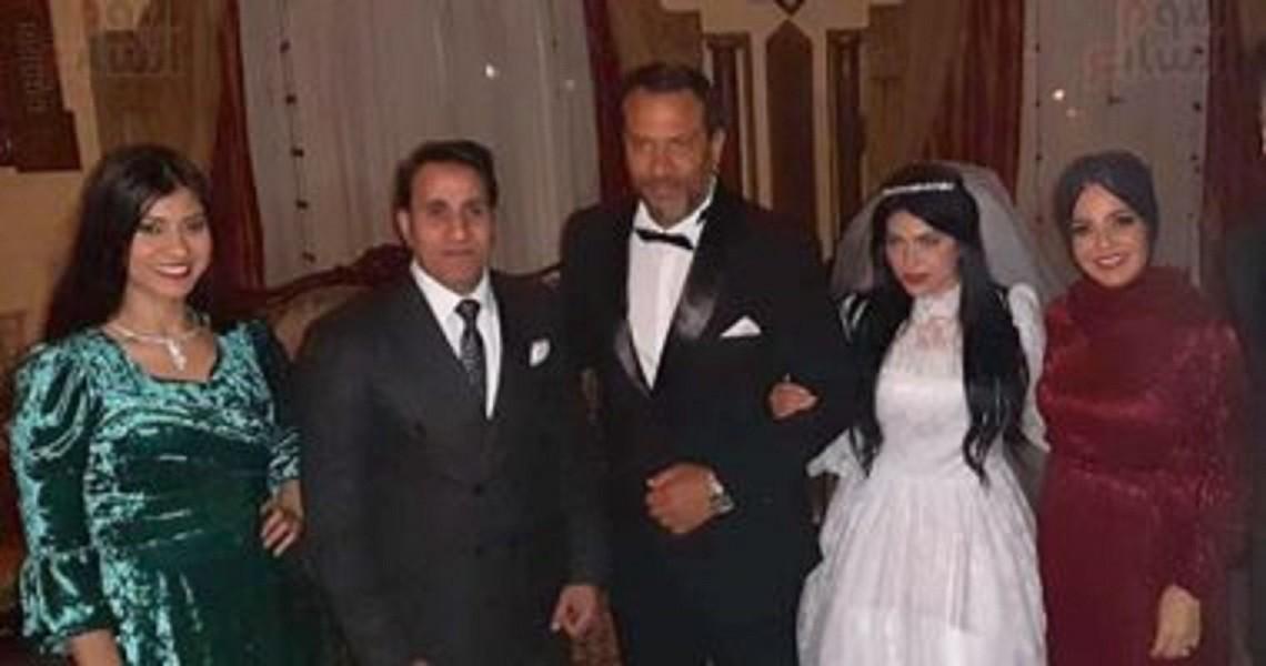 ماجد المصري يحتفل بزفاف إبنته