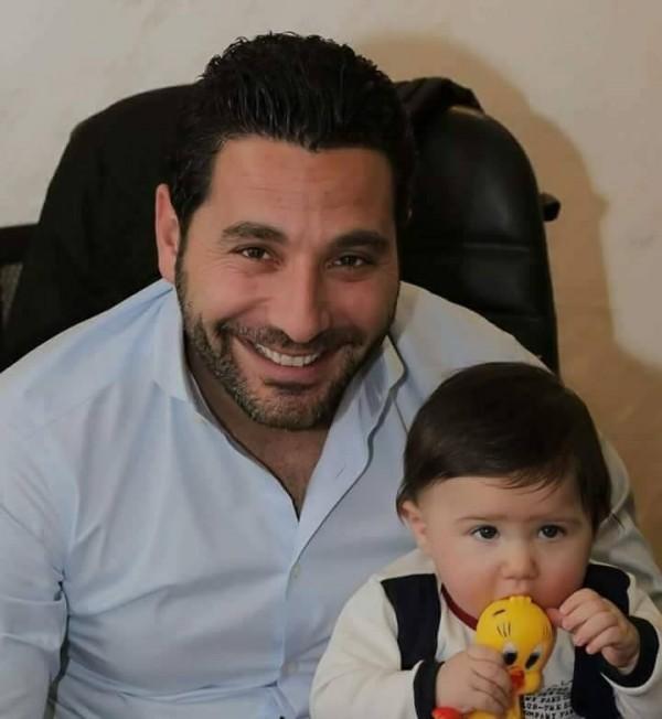 شاهدوا ظرافة ابنة وسام بريدي وريم الصعيدي-بالفيديو