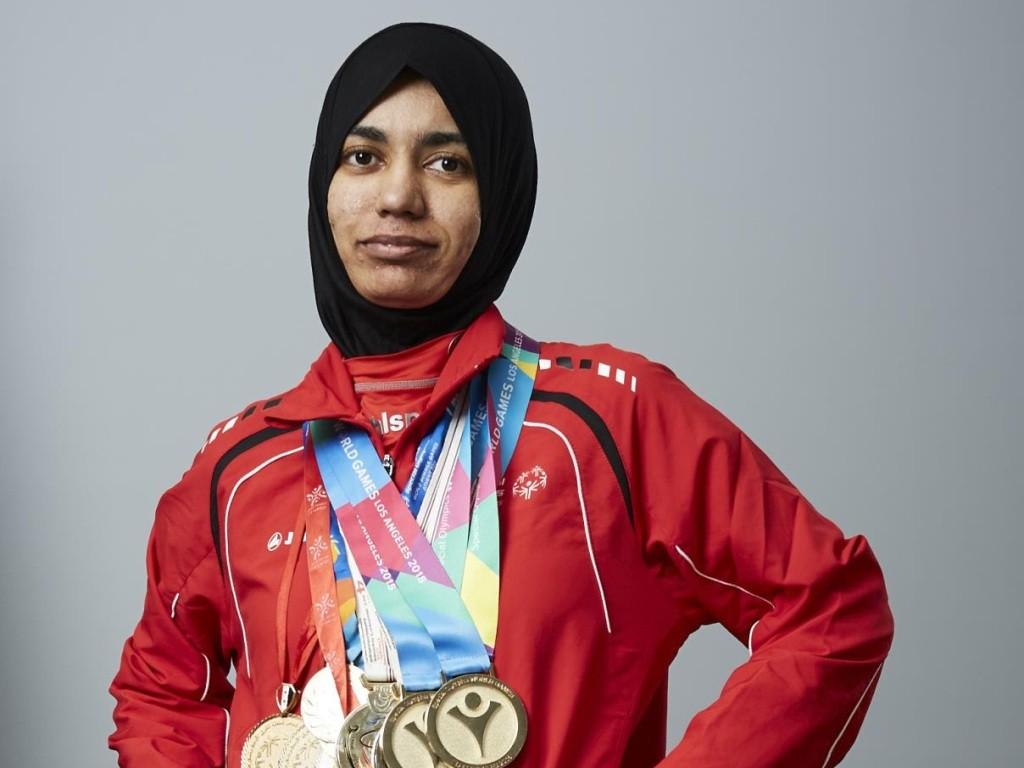 الإماراتية حمدة الحوسني تضيف ذهبية جديدة إلى رصيدها في أولمبياد أبوظبي 2019