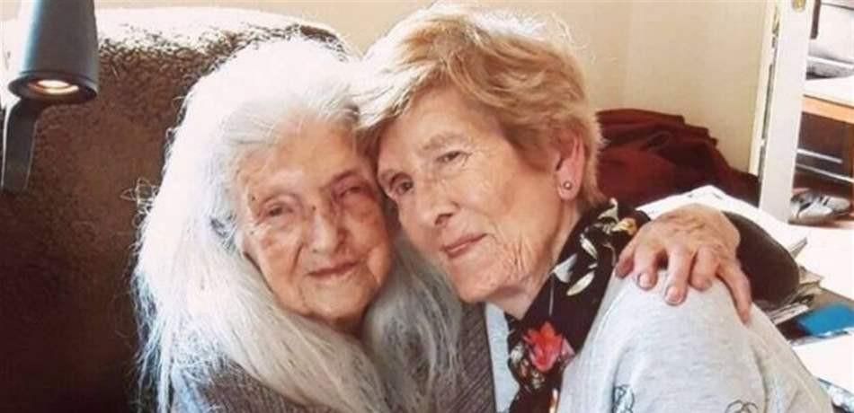 إلتقت بوالدتها بعد 70 عاماً من الفراق!