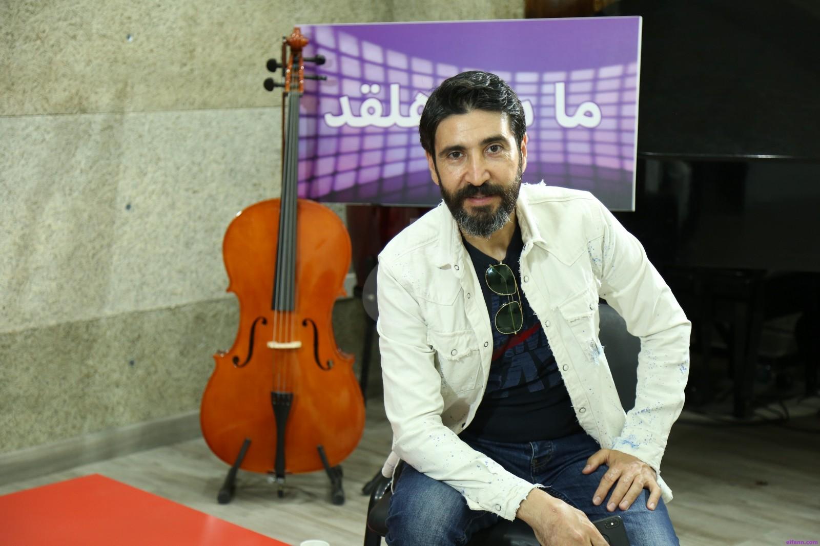 """خاص وبالفيديو- وسام صباغ :""""تعلمت كثيراً من عملي في هذا المسلسل"""" وهذا ما قاله عن باسم مغنية"""