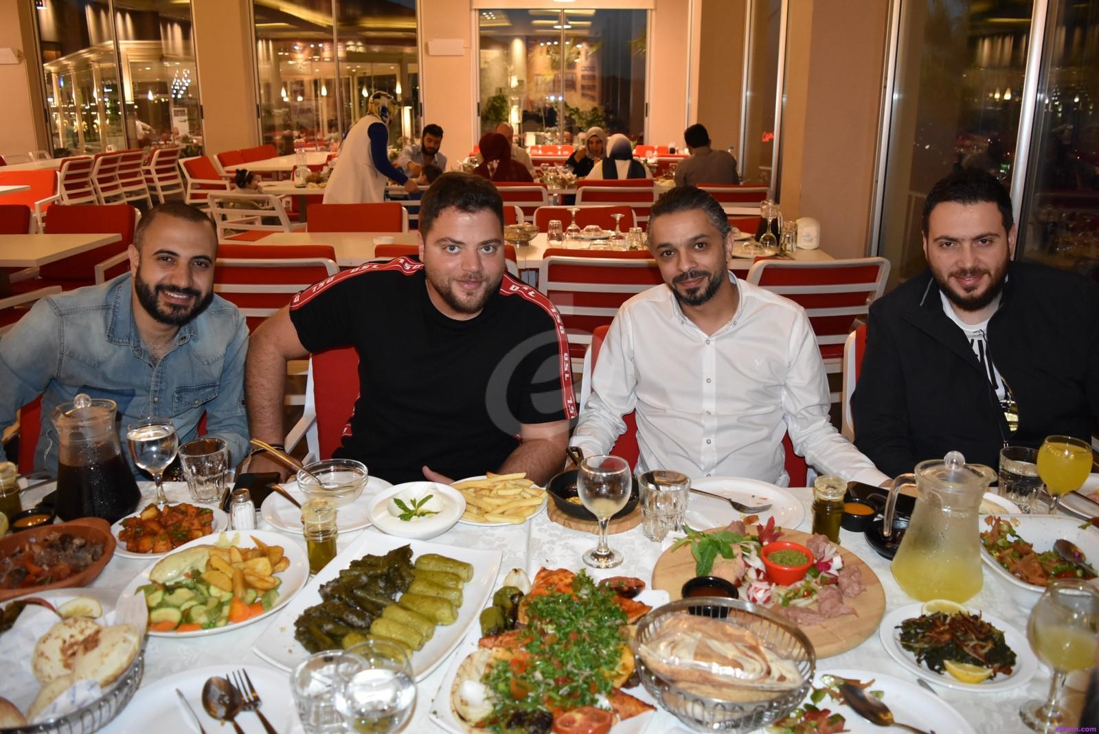 خاص بالصور- عامر زيان يجتمع مع فارس إسكندر وأحمد المنجد وكليب جديد