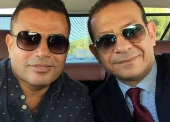 محامي عمرو دياب يتعرض لحادث سير