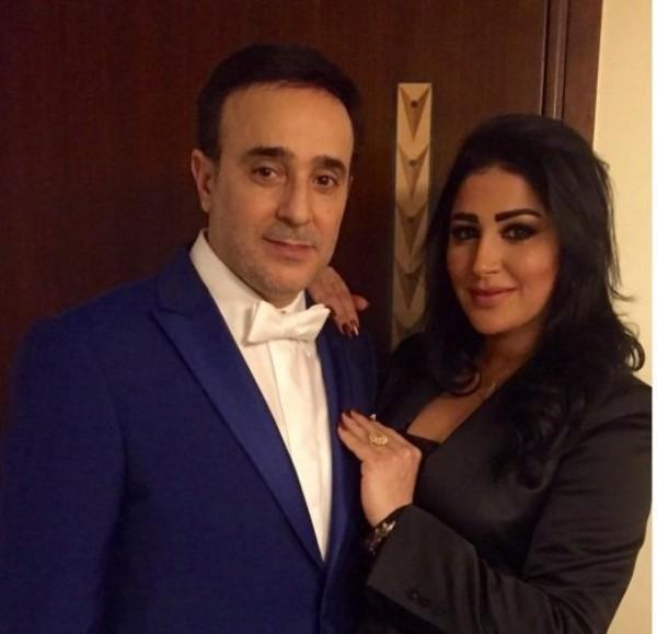 زوجة صابر الرباعي تعايده لمناسبة عيد ميلاده- بالصورة