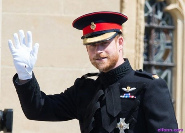 أمن الأمير هاري يتعرض للخطر بسبب صورة وهكذا تم التعويض عليه
