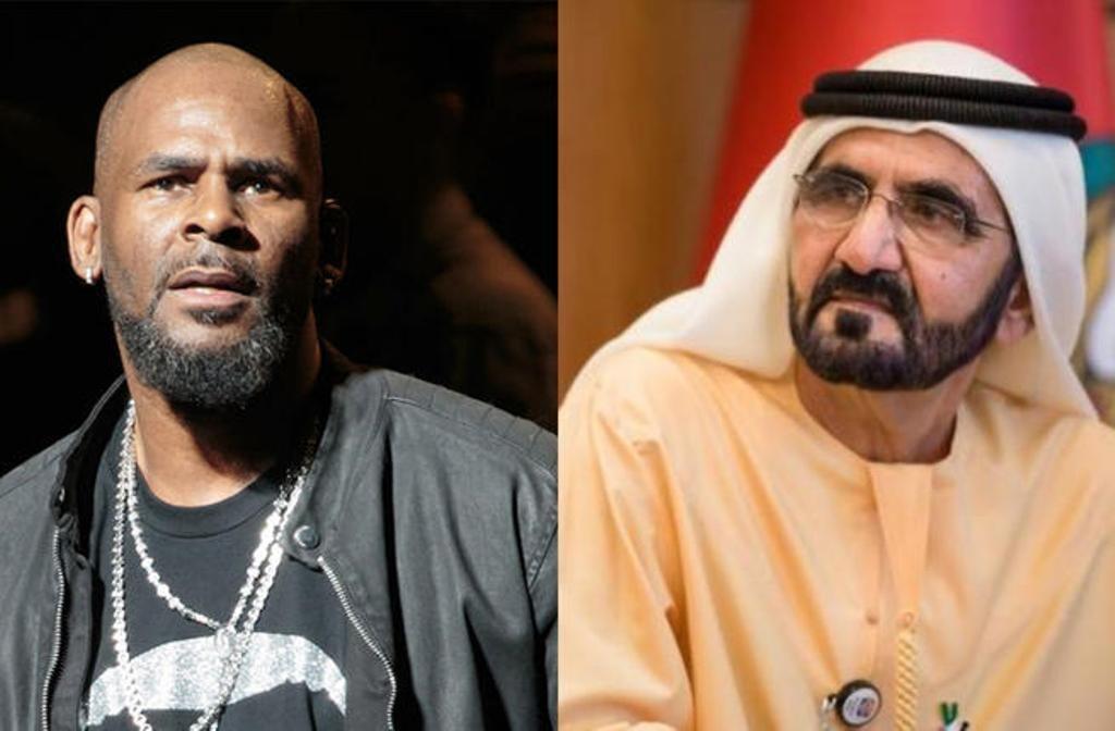 بعد اتهامه بالتّحرّش..آر كيلي  يدعي لقاء بعائلة آل مكتوم في دبي