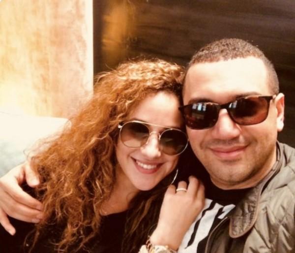 شيري عادل تعلن انفصالها عن زوجها معز مسعود