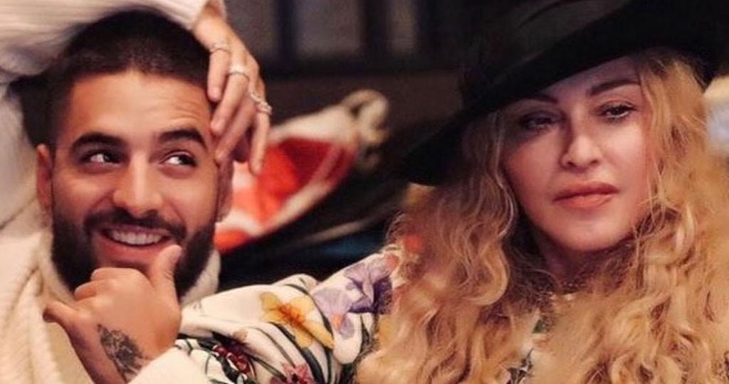 بالصوت- مادونا تطرح أغنيتها مع مالوما Medellin