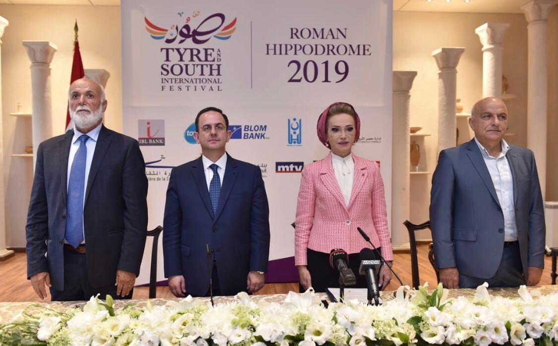 ملحم زين ورامي عياش نجما مهرجانات صور الدولية 2019