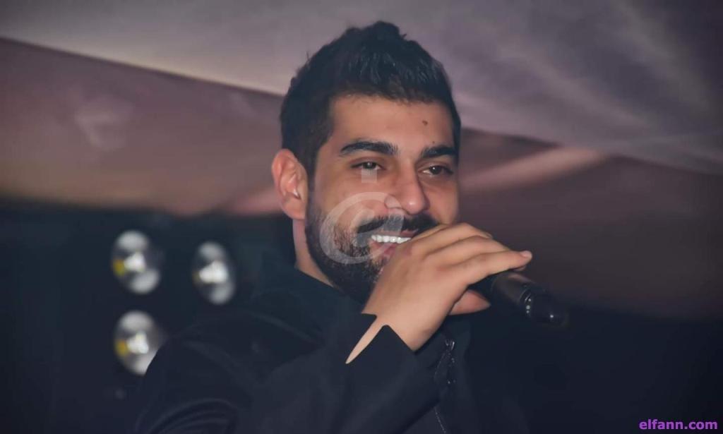 خاص بالصور- آدم يشعل الأجواء في حفله ويغني جورج وسوف وشيرين عبد الوهاب