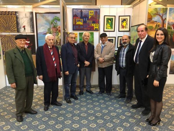بالصور- تكريم الشّاعر ناجي بيضون في معرض بيروت العربيّ الدوليّ للكتاب
