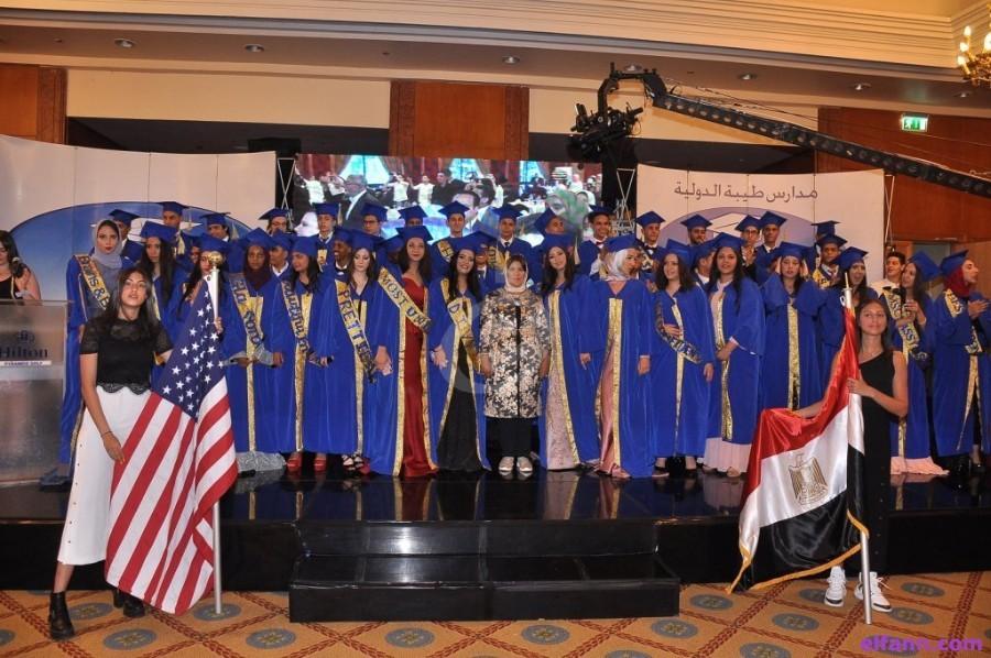 خاص بالصور- تكريم أحمد السقا ونجوم دراما 2019 من مدارس طيبة الدولية