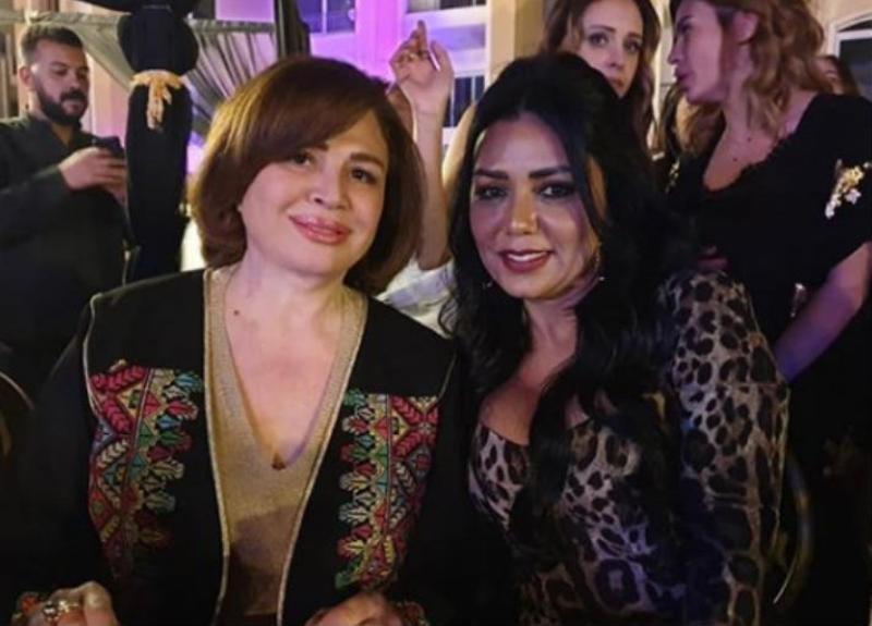 شاهدوا وصلة رقص جمعت رانيا يوسف بإلهام شاهين والسبب راغب علامة