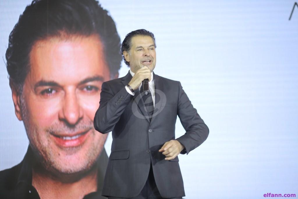 خاص بالصور- راغب علامة يحتفل بتعاقده مع إحدى شركات الإتصالات بمصر ويرحّب بتقديم ديو مع نانسي عجرم