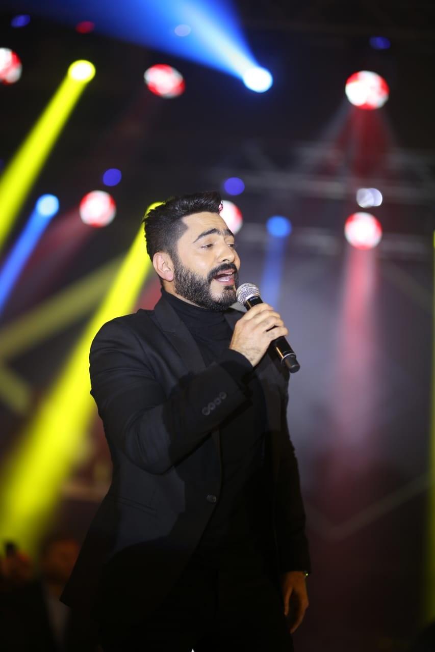 """حفل تامر حسني في السعودية """"كامل العدد"""""""