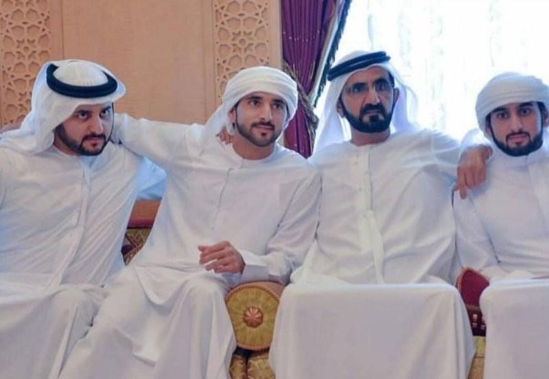 أبناء حاكم دبي يعقدون قرانهم ..تعرفوا على زوجاتهم