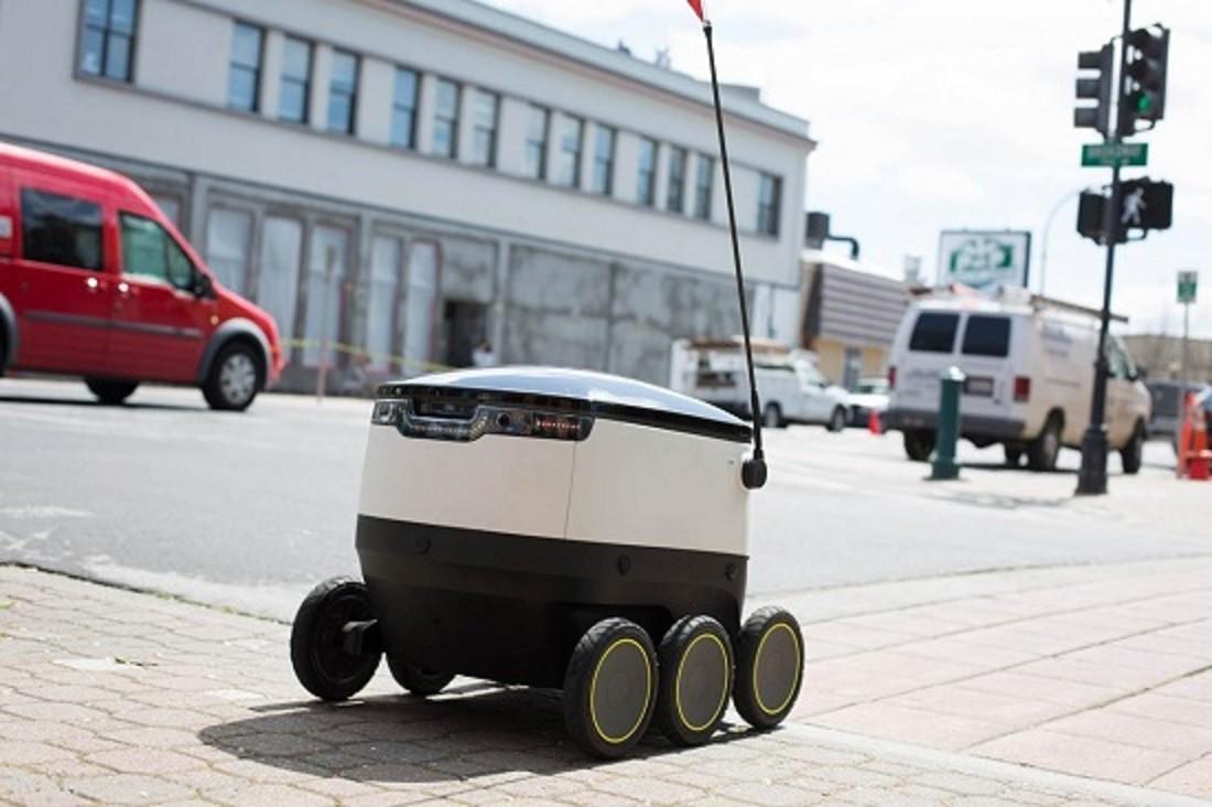 """دليفري """"روبوت"""" لتوصيل الطلبات!"""