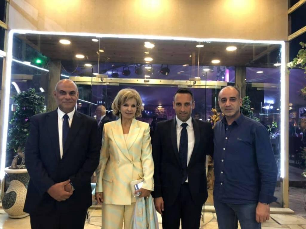 تمام بليق يجمع آل بليق ويكرّم كابتن نادي الأنصار عدنان بليق- بالصور
