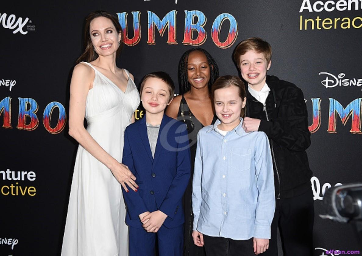 أنجلينا جولي تحرم أبناءها من الميراث باستثناء واحد منهم