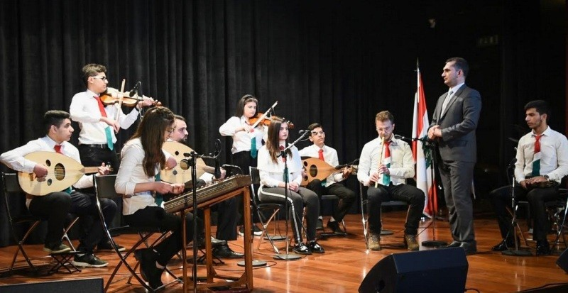 """فرقة """"بيت الموسيقى"""" تحتفل """"بيوم الموسيقى العربيّة الدّوليّ العاشر""""-بالصور"""