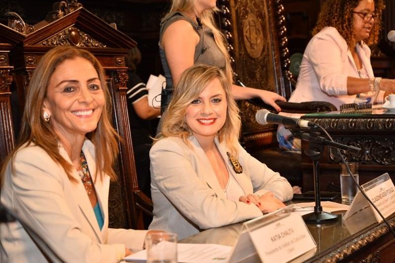 كلودين عون روكز ضيفة شرف ومتحدثة رئيسية في برلمان ريو دي جانيرو- بالصور