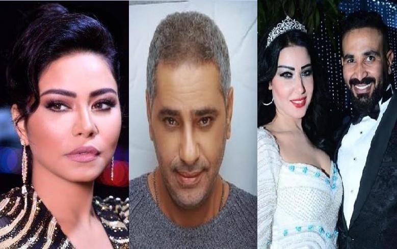 """موجز """"الفن"""": سمية الخشاب تنفصل عن أحمد سعد.. وشيرين عبد الوهاب تستنجد بـ فضل شاكر"""