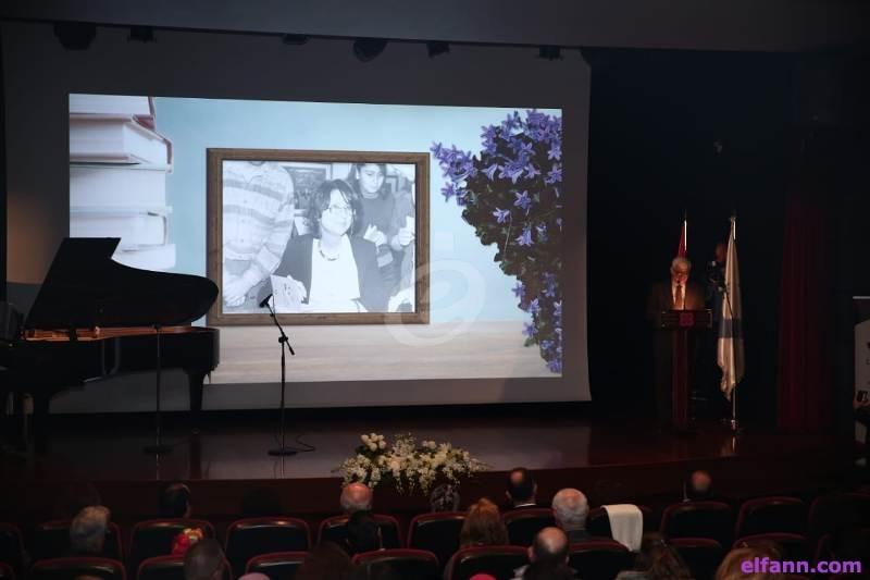 """خاص بالصور- """"مؤسسة الصفدي الثقافية"""" تقيم حفلاً تكريميًا تحية لروح مي منسّى"""